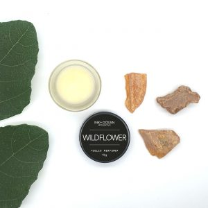 wildflower solid botanical perfume