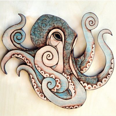 5. Wood Octopus - Glenouther Crafts