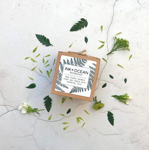 aromatherapy organic candle