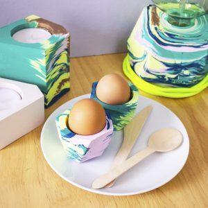 Egg cup set