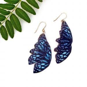 Butterfly Wing Earrings - Ceylon Tiger