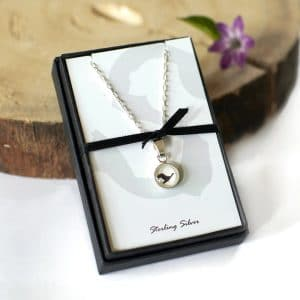 Gift Boxed Silver Goose Pendant