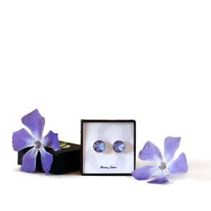 Blue Periwinkle Earrings