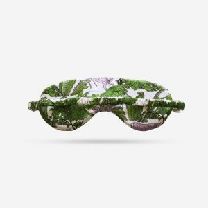 Tiger Silk Sleep Mask Back